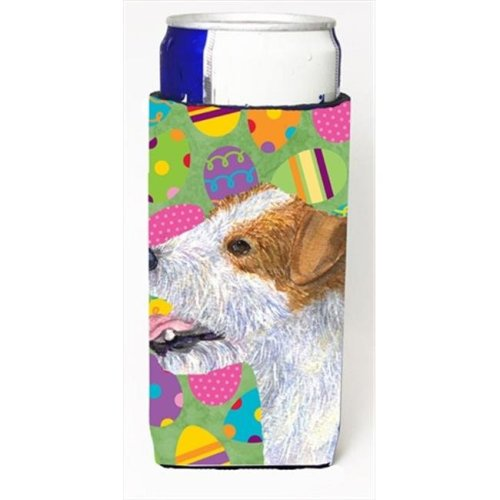Jack Russell Terrier Easter Eggtravaganza Michelob Ultra bottle sleeves For Slim Cans - 12 Oz.