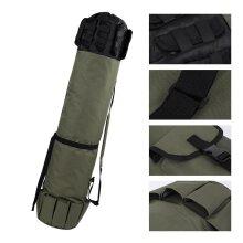 Outdoor Fishing Rod Pole Reel Lures Box Tackle Storage Bag Adjustable Shoulder Strap