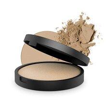 INIKA Baked Mineral Foundation Powder All Natural Make-up Base Matte Powder Face Compact Vegan Hypoallergenic Dermatologist Tested Halal 8g (Strength)
