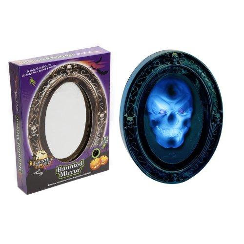 Trixes Haunted Mirror   Animated Halloween Mirror