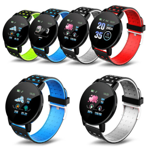 Smart Watch Bracelet Heart Rate Monitor Blood Pressure Fitness Tracker Bluetooth