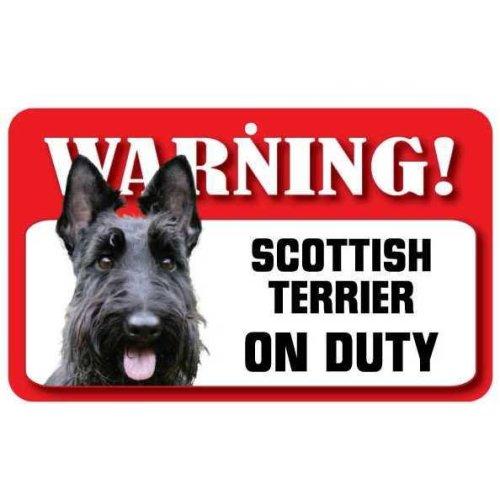 Scottish Terrier Pet Sign