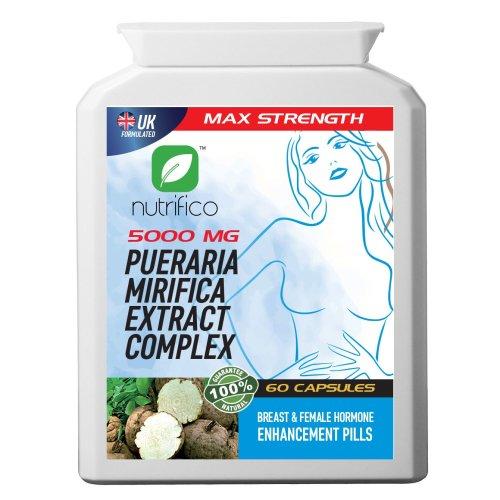 Pueraria Mirifica 10:1 Extract Complex 5000mg High Strength Pills