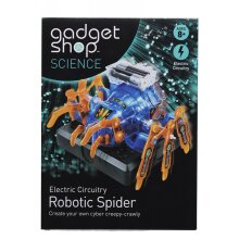Gadget Shop Science Electric Circuitry Robotic Spider For Ages 8 Above