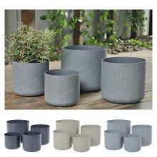 Sandstone Plant Pots | Set of Four