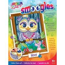 Sequin Art 1812 Owl Hoot Kids Craft Kit From The Smoogles Range