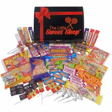 The Little Sweet Shop Retro Sweet Gift Hamper Retro for Children and Candy Lovers