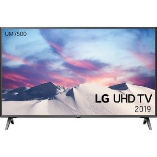"Lg 43UM7500PLA 108 Cm 42.5"" Smart Led-Lcd Tv 4K Uhdtv Black Dark Silver Led 43UM7500PLA"