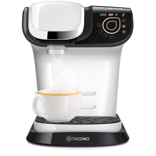 Tassimo Bosch My Way 2 TAS6504GB Coffee Machine, 1500 Watt, 1.3 Litre - White