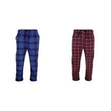 Cargo Bay Mens Tartan Lounge Pants/Pyjamas