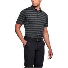 Under Armour Mens CC Scramble Stripe SS Golf Polo Shirt