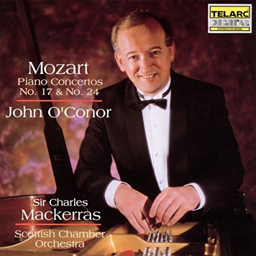 John Oconor - Mozart: Piano Concertos Nos. 17 and 24 [CD]