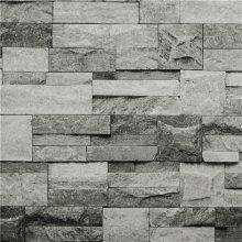 Hyfive Grey 3D Brick Wallpaper | Stone Effect Wallpaper