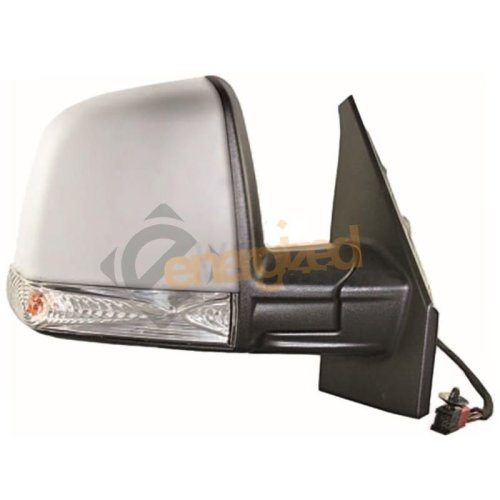 Fiat Doblo Mk2 2010-> Cable Adjust Primed Cover Wing Mirror Drivers Side