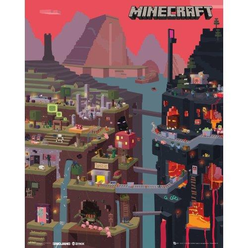 Minecraft World Mini Poster