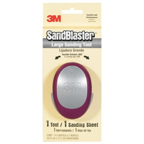 3M 463-000 3.7 x 7.3 in. Large Tool With Sanding Pad