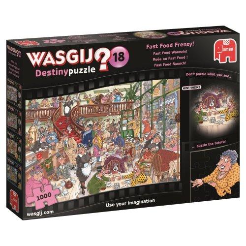 Wasgij 19157 Destiny 18-Fast Food Frenzy 1000 Piece Jigsaw Puzzle