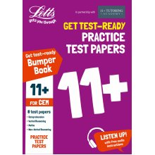 11+ Practice Test Papers (Get test-ready) Bumper Book, inc. Audio Download: for the CEM tests (Letts 11+ Success)