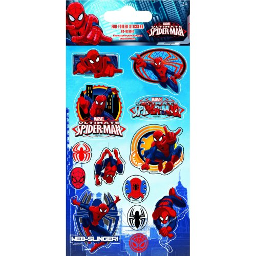 Paper Projects Spiderman Foiled Sticker