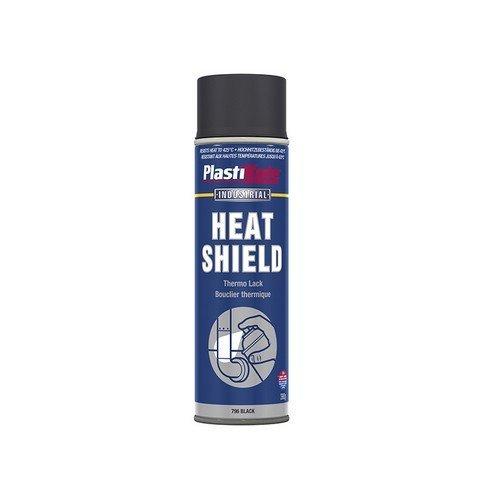 Plasti-Kote PKT796 Industrial Heatshield Spray Black 500ml