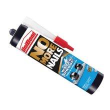 Unibond 1966745 No More Nails Waterproof Interior / Exterior - Solvent Free 300ml