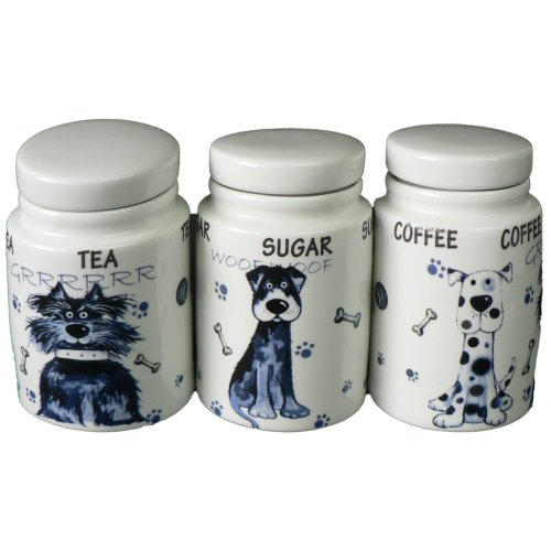 Ceramic Tea Sugar Coffee Storage Jars