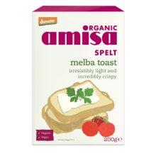 Amisa  Spelt Melba Toast 200g x 6