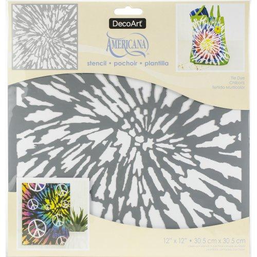 """Americana Mixed Media Stencil 12/""""x12/""""-dandelion"""