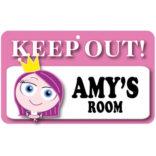 Keep Out Door Sign - Amy's Room