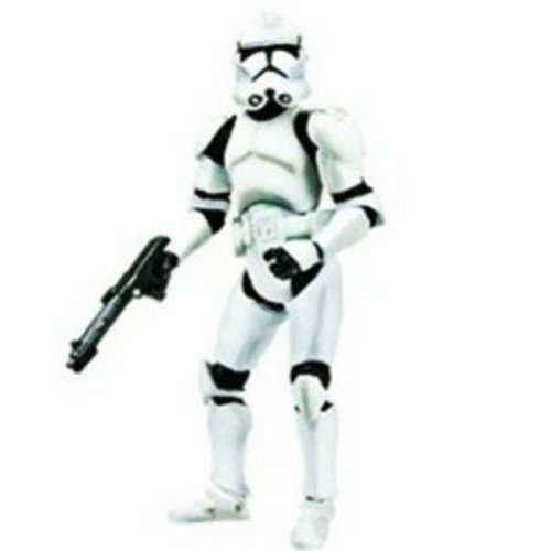 Star Wars Revenge Of The Sith Clone Trooper Figure 4 Inches Action Figures