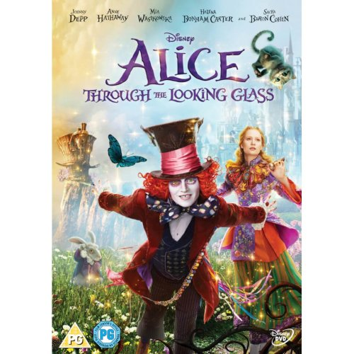 Alice Through The Looking Glass DVD [2016]