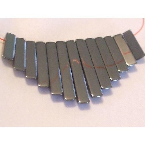 Hematite Fringe - 4mm - Approx 13 Beads
