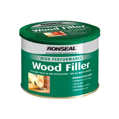 Ronseal 36384 High Performance Wood Filler Dark 550g