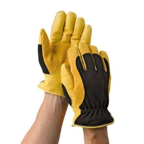 Gold Leaf Winter Touch Gloves Ladies