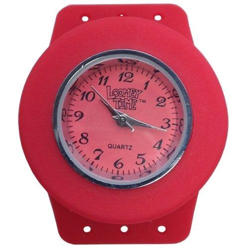 Loomey Time Single Watch (Raspberry Red)