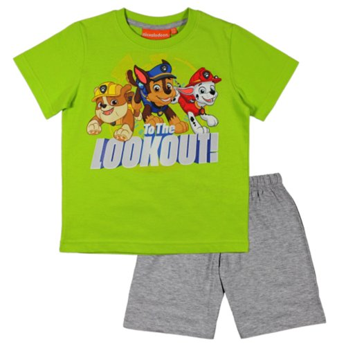 Paw Patrol Short Pyjamas - Green