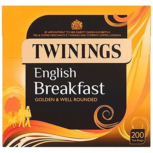 Twinings English Breakfast 200 Tea Bags