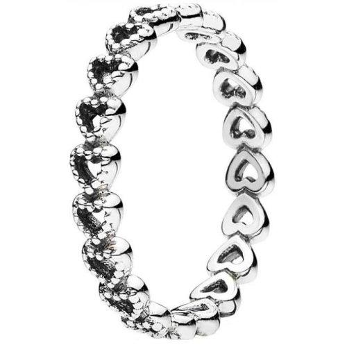 Farandole stainless steel and adjustable ring.