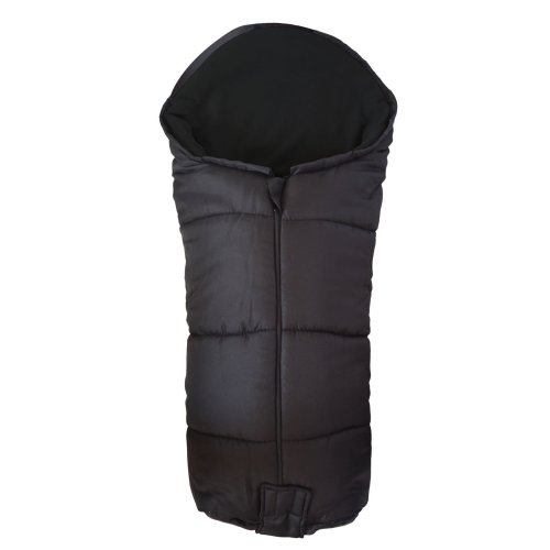 Deluxe Footmuff / Cosy Toes Compatible with All Models Black