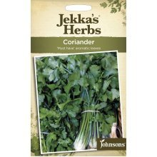 Johnsons - Jekka's Herbs - Pictorial Pack - Coriander - 300 Seeds