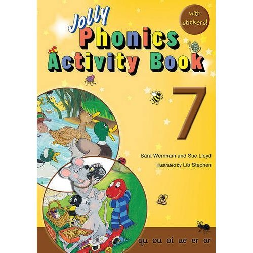 Jolly Phonics Activity Book 7: in Precursive Letters (BE)