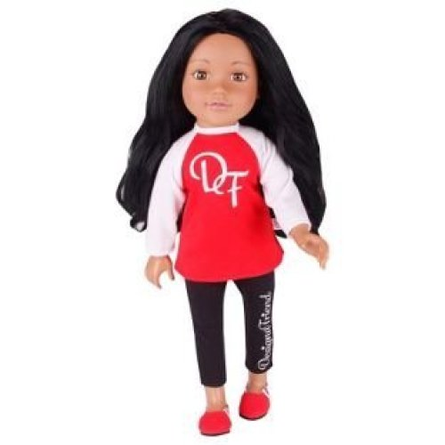 DesignaFriend Scarlett Doll