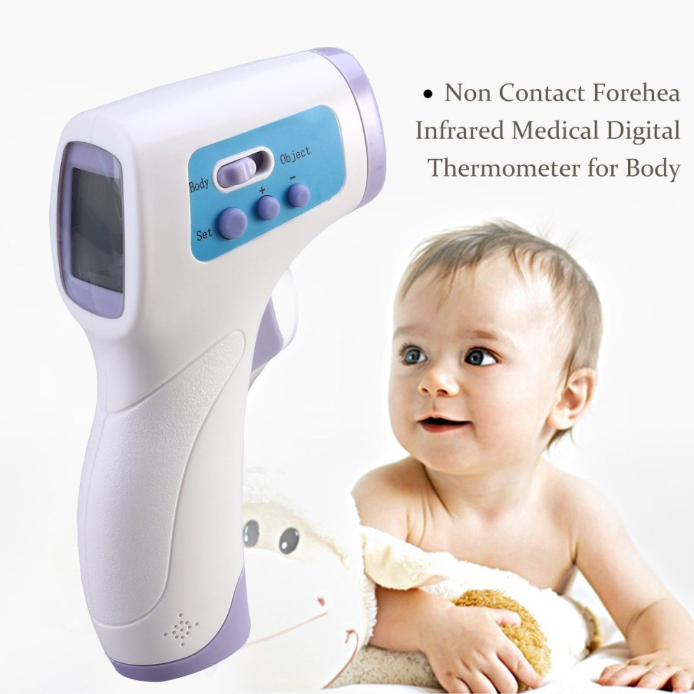 Digital Non-Contact Baby Thermometer Forehead Infrared Medical Adult Body Care