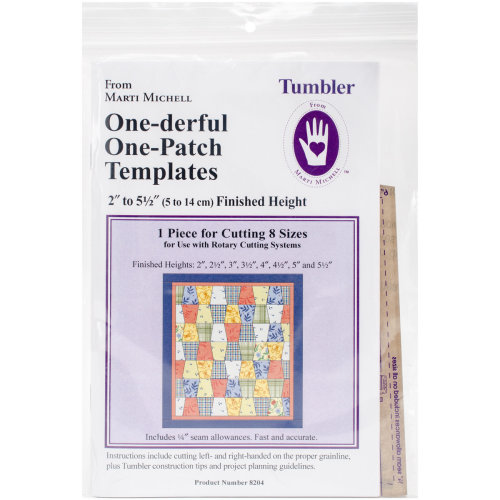 Marti Michell One-Derful One-Patch Template-60 Degree Diamond /& Triangle