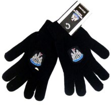 Newcastle United F.c Knitted Gloves Junior - Official Fc Football Licensed -  gloves knitted newcastle united official fc junior football licensed
