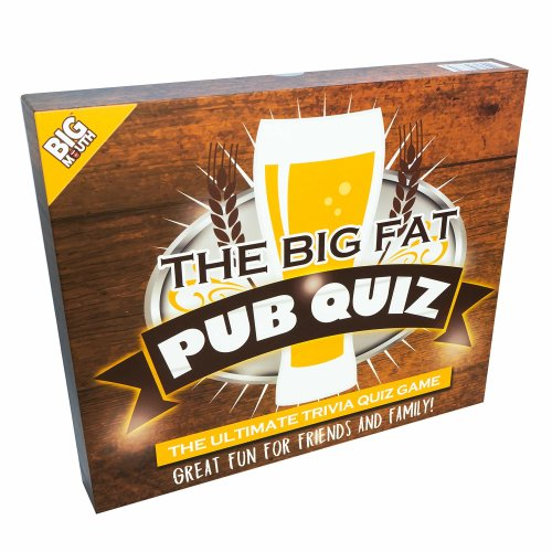 The Big Fat Pub Quiz : The Ultimate Trivial Party Quiz Game!
