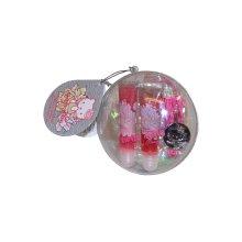 Hello Kitty Lip Gloss Duo and Keychain