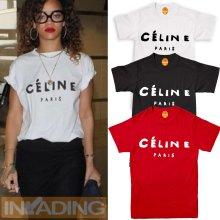 Celine Paris Women Fashion T Shirt Top