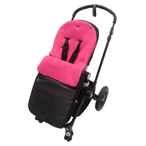 Car Seat  Footmuff Cosy Toes Compatible with Graco Dark Pink
