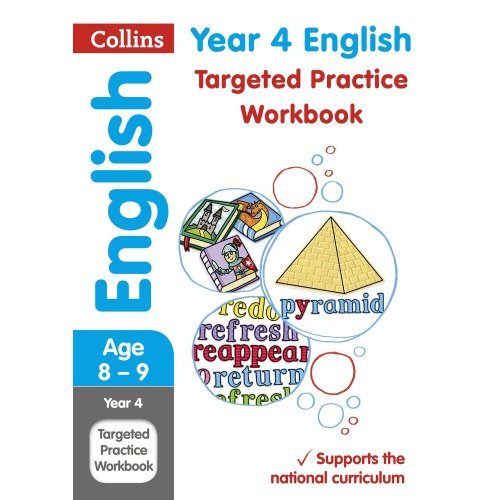 Year 4 English Targeted Practice Workbook: 2019 tests (Collins KS2 Revision and Practice)